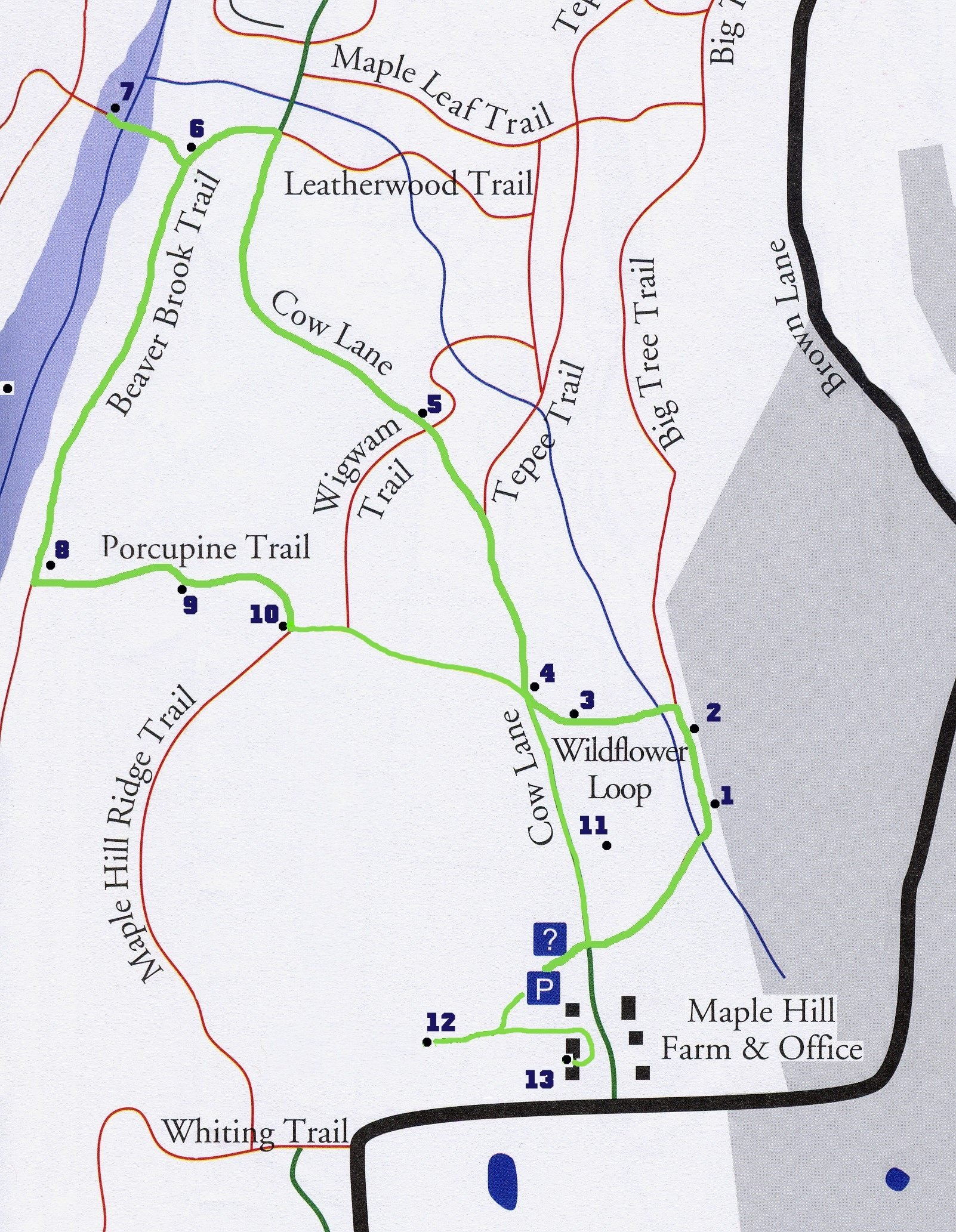 Trail Maps and Guides - Beaver Brook ociation on hiking map, bear brook trail race, dogtown gloucester ma bike trail map,
