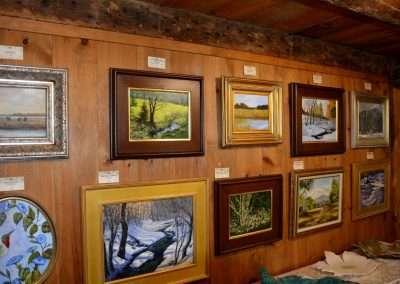 Artwork in Barn