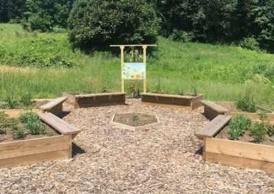 Pollinator Garden at MHF